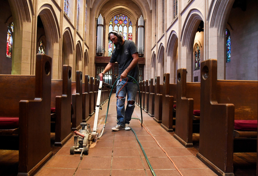 Denver's century-old St. John's Cathedral installs new tech